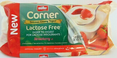 Muller Corner Lactose Free; Strawberry