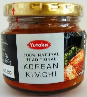 Yutaka 100% Natural Traditional Korean Kimchi
