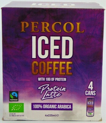 Percol Iced Coffee Protein Latte