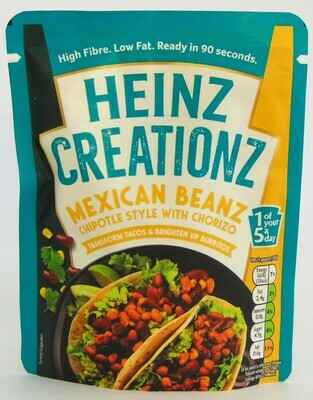 Heinz Creationz Mexican beanz Chipotle Style with Chorizo