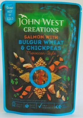John West Creations Salmon with Bulgur Wheat and Chickpeas