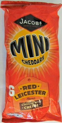 Jacobs Mini Cheddars Red Leicester
