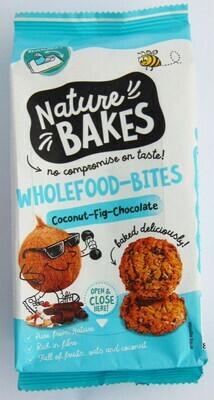 Nature Bakes Wholefood Bites Coconut Choc