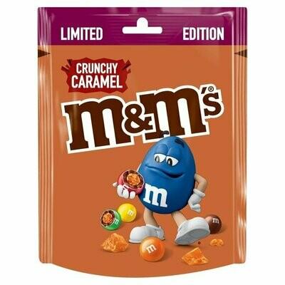M&Ms Crunchy Caramel Pouch