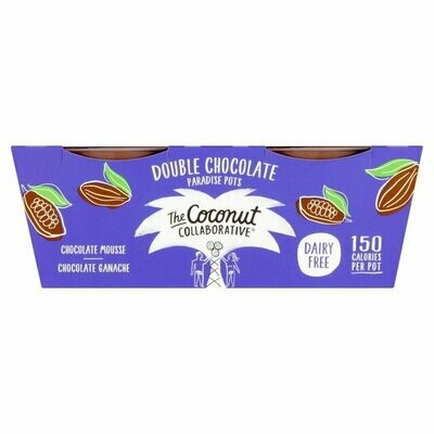 The Coconut Collaborative Double Chocolate Paradise Pots (Dairy Free)