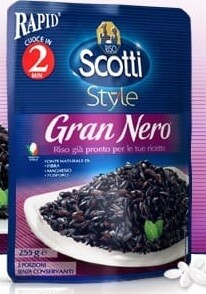 Riso Scotti Microwavable Black Rice