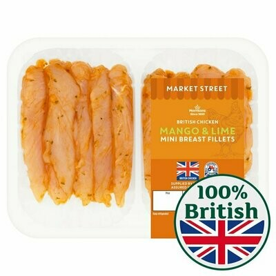 Morrisons Mango & Lime Mini Chicken Fillets
