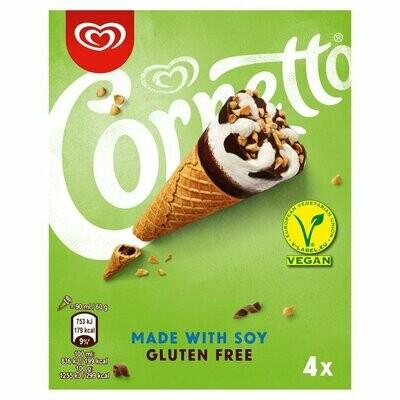 Cornetto Vanilla Gluten Free Soy Ice Cream Cones