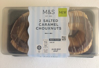 Marks and Spencer Salted Caramel Chouxnuts