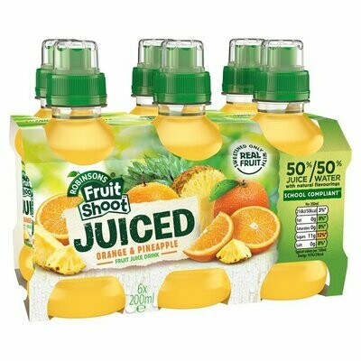 Fruit Shoot Juiced: Orange & Pineapple