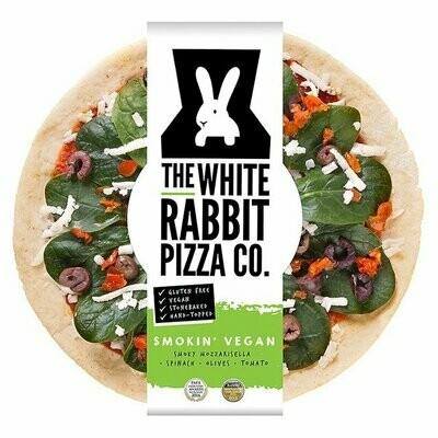 White Rabbit Pizza Smokin' Vegan Gluten Free Pizza