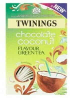 Twinings Chocolate and Coconut Flavoured Green Tea