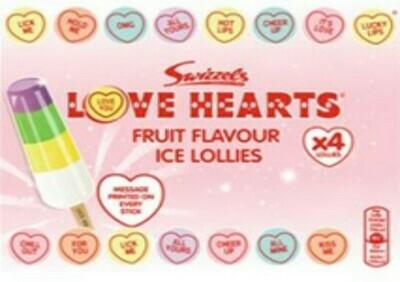 Swizzels Love Hearts Fruit Flavour Ice Lollies