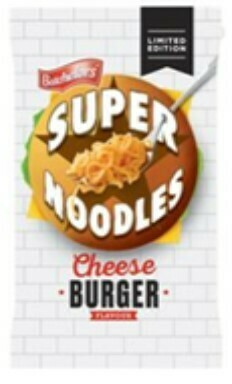 Super Noodles Cheese Burger Flavour