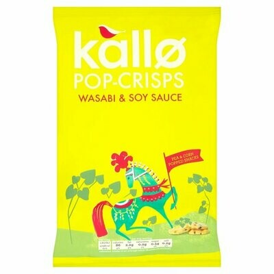 Kallo Wasabi and Soy Sauce Pop Crisps