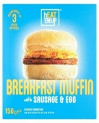 Heat Em Up Sausage and Egg Breakfast Muffin