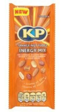 KP Nuts Energy Mix: Orange Nut Fudge