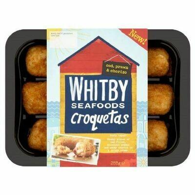 Whitby Cod, Prawn & Chorizo Croquetas