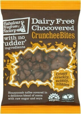 Fabulous Freefrom Factory Dairy Free Chocovered Crunchee Bites New