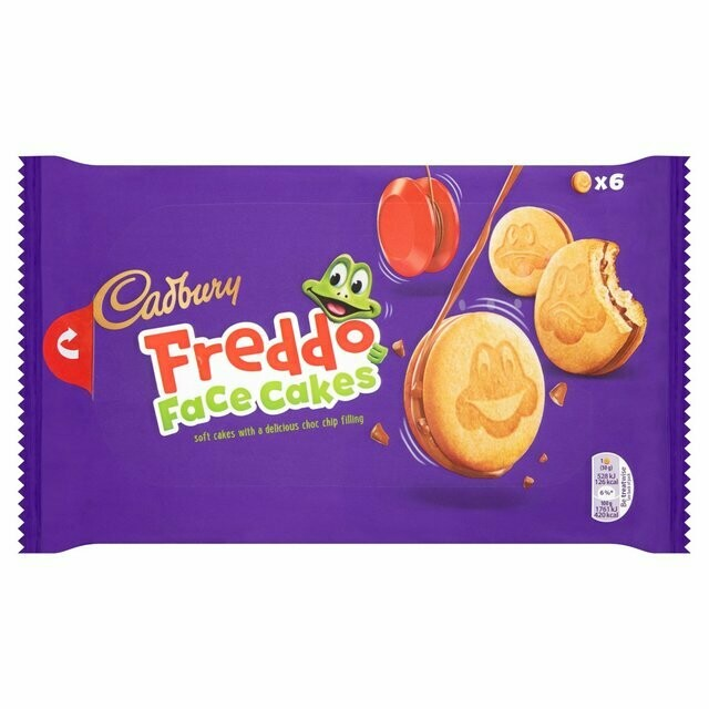 Cadbury Dairy Milk Freddo Face Cakes
