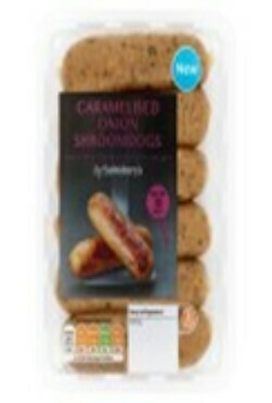 Sainsbury's Caramelised Onion Shroomdogs