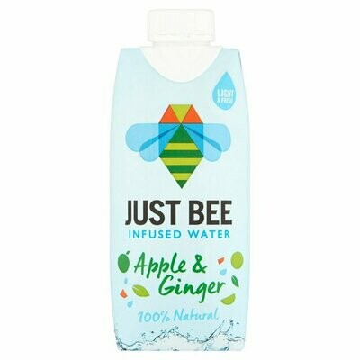 Just Bee Honey Water Apple & Ginger 330ml