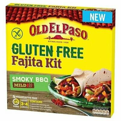 Old El Paso Gluten Free Smoky BBQ Fajita Kit