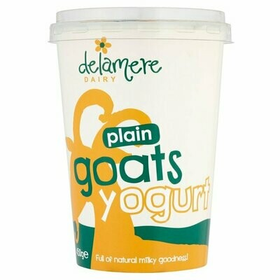 Delamere Dairy Natural Goats Milk Yogurt