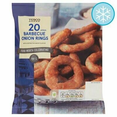 Tesco BBQ Onion Rings