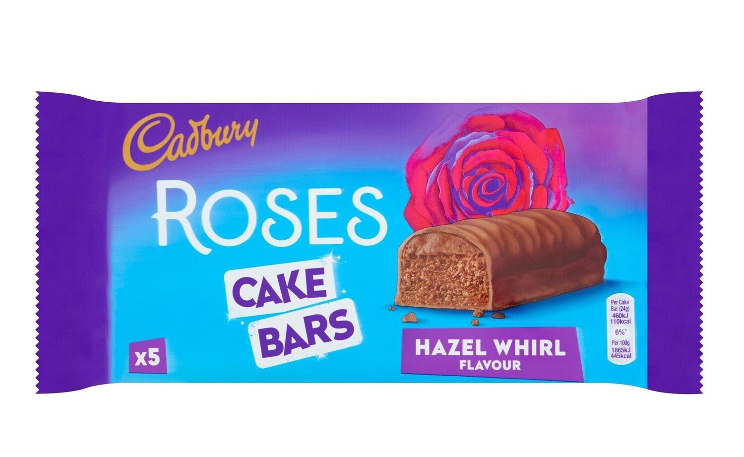 Cadbury Roses Cake Bars - Strawberry Dream