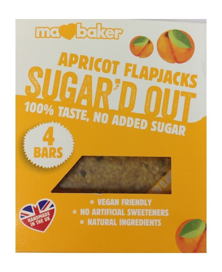 Ma Baker Apricot Flapjacks Sugar'D Out