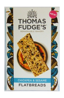 Thomas Fudge's Flatbreads : Chickpea & Sesame