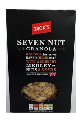 Jack's Seven Nut Granola