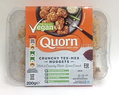 Quorn Totally Vegan Crunchy Tex Mex Nuggets