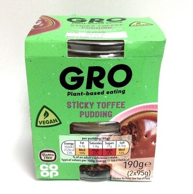 Co-op Gro Sticky Toffee Pudding