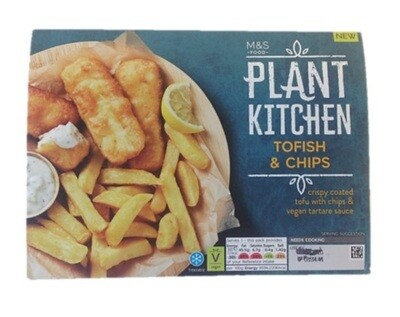 Marks and Spencer Plant Kitchen Tofish & Chips