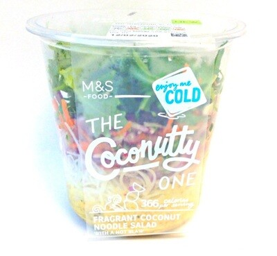 M & S Coconutty One - Fragrant Coconut Noodle Salad with a Hot Slaw