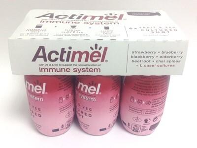 Actimel Fruit & Veg Cultured Shot - Red Smoothie