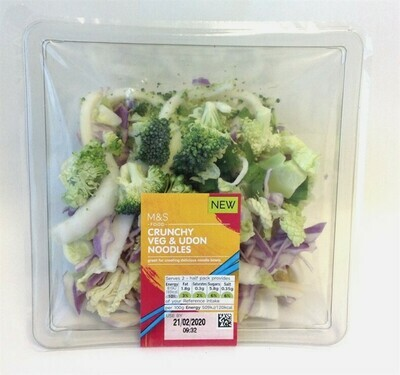 Marks and Spencer Crunchy Veg & Udon Noodles