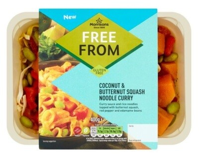 Morrisons Free From Coconut & Butternut Squash Noodle Curry