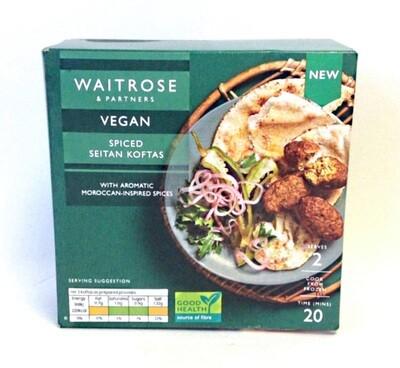Waitrose Vegan Spiced Seitan Koftas