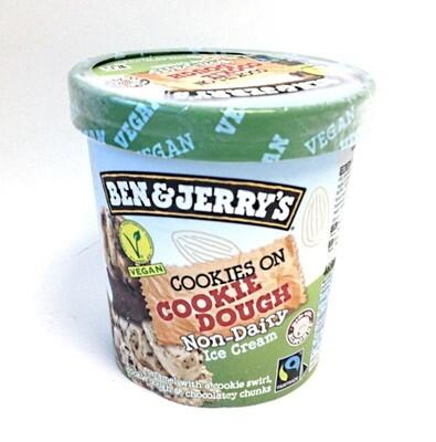 Ben & Jerry's Vegan Cookies On Cookie Dough Non-Dairy Ice Cream