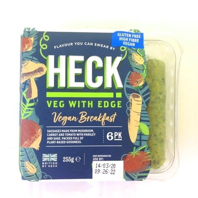 Heck Vegan Breakfast Plant Based Sausages