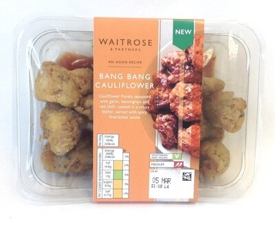 Waitrose Bang Bang Cauliflower