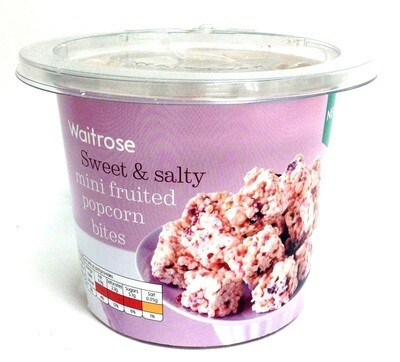 Waitrose Sweet & Salty Mini Fruited Popcorn Bites