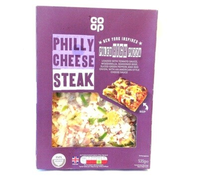 Co-op New York Style Piled High Philly Cheese Steak Pizza