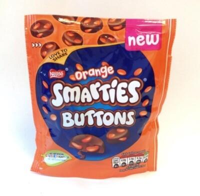 Orange Smartie Chocolate Buttons