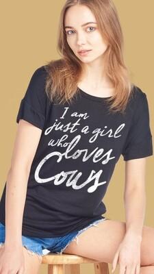 I am jst grl loves cows