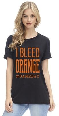 I bleed orange top