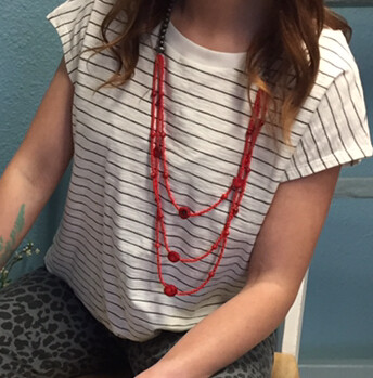 AAC-$48.00 Coral Necklace